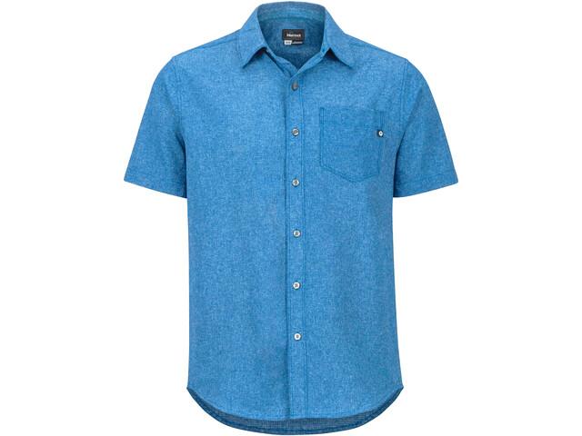 Marmot Aerobora Camisa Manga Corta Hombre, varsity blue